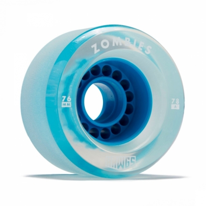 Landyachtz 2018 Clear Zombie Hawgs Blue 76Mm/78A компл.