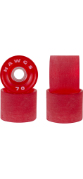 Landyachtz 70mm Supremes Red