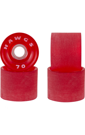 Landyachtz 70mm Supremes Red