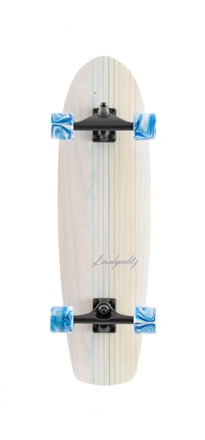 Landyachtz Butter - White Lines