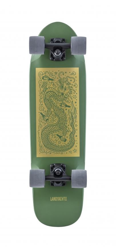Landyachtz Dinghy Green Dragon