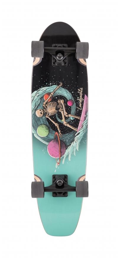 Landyachtz Dugout Surfing Skeleton