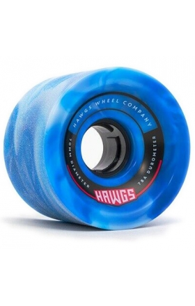 Landyachtz Fattie Hawgs Blue 70Mm - 78A