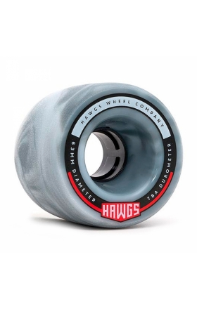 Landyachtz Fatty Hawgs Gray 63Mm - 78A