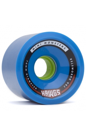 Landyachtz Mini Monster Hawgs 70Mm - Blue 78A