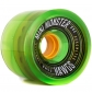 Landyachtz Mini Monster Hawgs 70Mm - Clear Green 80A