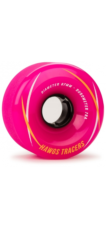 Landyachtz Tracer Hawgs 67Mm - Pink 78