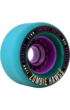 Landyachtz Zombie Hawgs 76Mm - Teal 86A